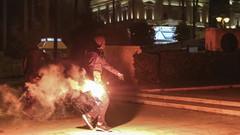 Yunan parlamentosuna molotof atıldı