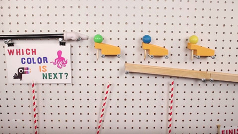 İzlerken Hipnotize Olacağınız Muhteşem Rube Goldberg Makinesi