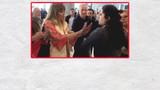 Havalimanında görevliye hakaret etmişti! O kadının cezası belli oldu
