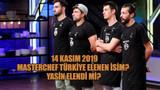 14 Kasım 2019 Masterchef Türkiye elenen isim? Yasin elendi mi?