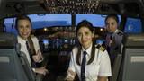 THY kadın pilotlarla rekor kırdı