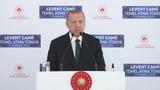 Erdoğan Levent'teki caminin adını duyurdu: Barbaros Hayrettin Paşa Camii