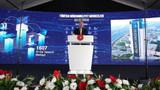 Cumhurbaşkanı Erdoğan yerli iş makinesi ekskavatörü test etti