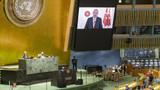 Erdoğan BM'de İsrail eleştirdi! İsrail büyükelçisi salona terk edildi