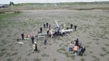 Büyükçekmece'de eğitim uçağı düştü!