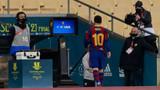 Rakibine yumruk attı! Lionel Messi ilk kez kırmızı kart gördü