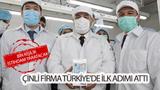 Çinli firma Türkiye'de ilk adımı attı: Bin kişilik istihdam yaratacak