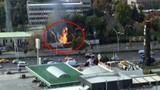 Ankara'da MTA Kampüsü önünde doğalgaz patlaması!