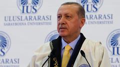 Cumhurbaşkanı Erdoğan: Biz Türkiye'yi ileriye götürmek istedikçe birileri geriletmeye çalışıyor