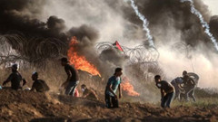 İsrail askerleri gerçek mermiyle müdahale etti