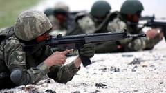 PKK'nın taciz ateşlerine karşılık verildi... PKK'lılar vuruldu