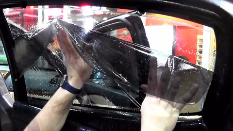 Araçlarda cam filmi ve renkli cama yeni düzenleme