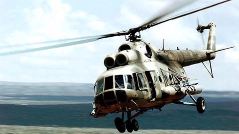 Norveç'te Rus helikopteri denize düştü