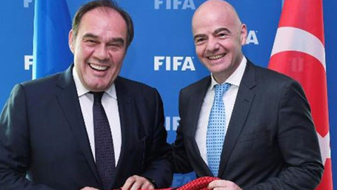 Demirören, FIFA Başkanı Infantino'yu ziyaret etti
