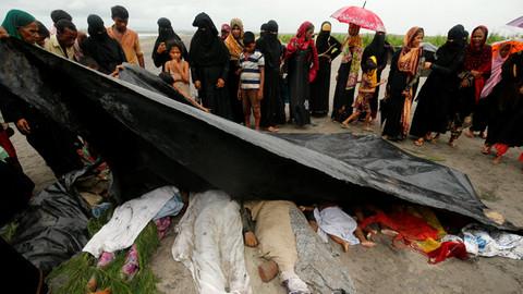 AB: Arakan'da etnik temizlik yapıldı