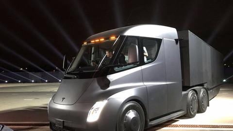 Tesla'nın elektrikli TIR'ı tanıtıldı