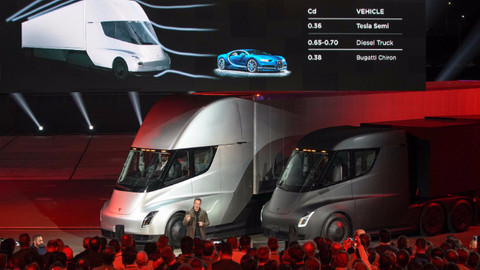Tesla'nın elektrikli TIR'ı Semi'nin fiyatı açıklandı