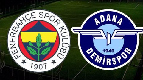 Fenerbahçe kupada farklı kazandı