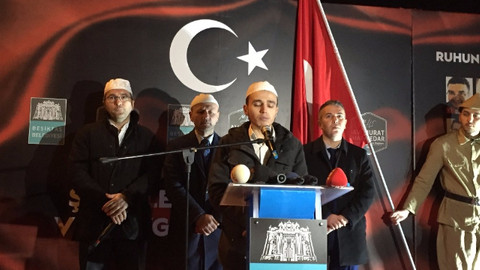 Beşiktaş patlamasının yaşandığı yerde anma töreni düzenlendi