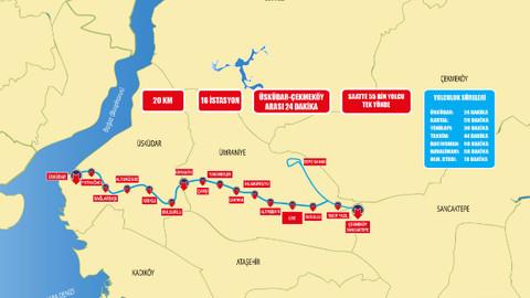 5 yılın ardından Üsküdar Ümraniye Metro Hattı açılıyor!