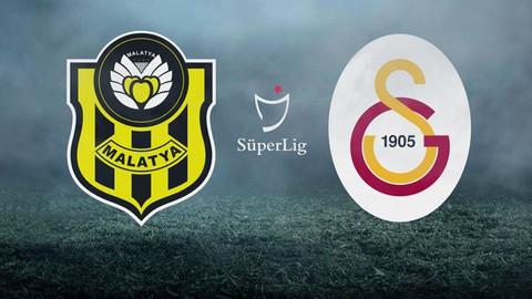 Galatasaray liderliği Malatya'da bıraktı
