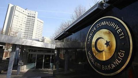 """Türkiye, """"Balistik füze"""" saldırısını kınadı"""