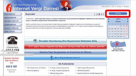 Vergi borcu hesaplamak artık çok kolay! İnternetten vergi borcu hesapla!