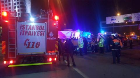 Pendik'te kaza: 2 ölü 1 yaralı