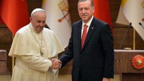 Cumhurbaşkanı Erdoğan, Papa'nın davetlisi olarak Vatikan'a gidiyor
