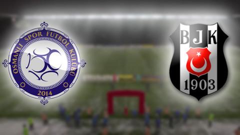 Osmanlıspor Beşiktaş maçı ne zaman? Hangi kanalda?