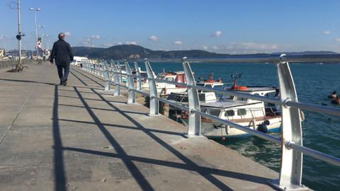 Son dakika İstanbul haberleri! Sarıyer sahilinde korkuluk çalışmaları başladı!