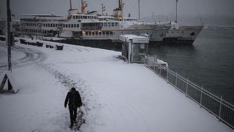 Kar, tatilin ilk haftasında geliyor