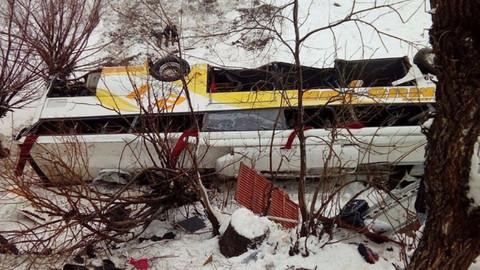 3 farklı ilde yolcu otobüsü devrildi