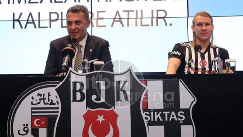 Beşiktaş, Vida'nın lisansını çıkarttı