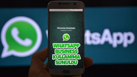 WhatsApp Business kullanıma sunuldu