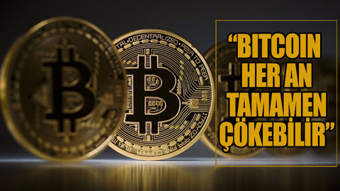 Shiller:  Bitcoin her an tamamen çökebilir