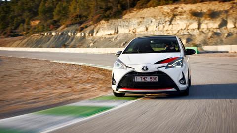 Son dakika otomobil haberleri... TOYOTA yüksek performansı YARIS GRMN ile yollara taşıyor