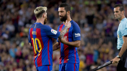 Lionel Messi'den Arda Turan mesajı