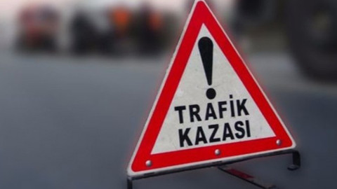 TEM'de trafik kazası meydana geldi