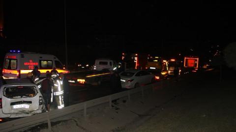 Son dakika! Esenyurt'ta zincirleme kaza: 12 yaralı