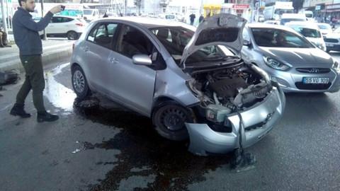 Son dakika! Samsun'da trafik kazası: 2 yaralı