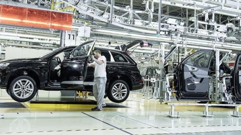 Almanya'da Audi tesislerinde polis araması