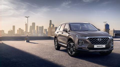 Hyundai yeni Santa Fe'nin ilk fotoğraflarını yayınladı