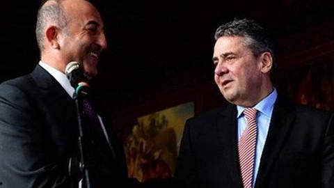 Çavuşoğlu ve Gabriel'den ortak basın toplantısı