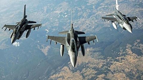 TSK: Kuzey Irak'a hava operasyonu düzenledi