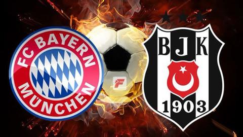Bayern Münih-Beşiktaş maçı hangi kanalda, muhtemel 11'ler