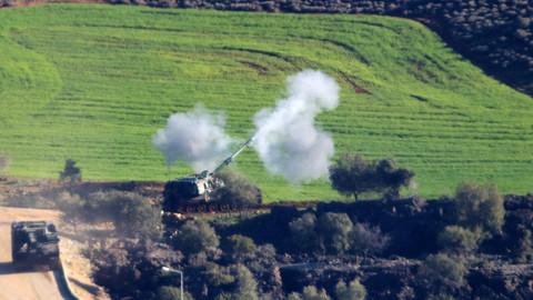 TSK, Afrin'in kuzeydoğusundaki Zeytune köyünü terörden arındırdı.