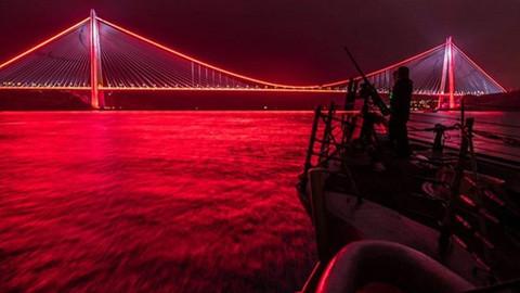 ABD donanması 'Yavuz'u paylaştı