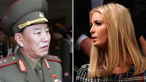Ivanka Trump, Güney Kore'de Kuzey Koreli generalle karşı karşıya gelecek