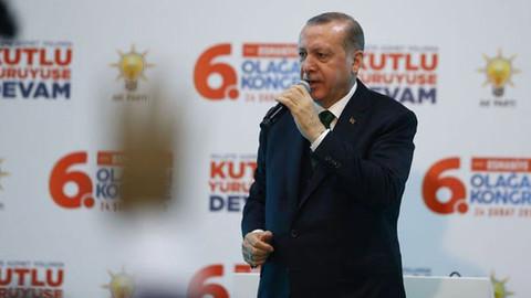 Cumhurbaşkanı Erdoğan: Afrin'de 2021 terörist etkisiz hale getirildi